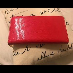 Nordstrom Olivia Pratt Fuchsia Wallet